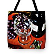 Wine And Dine Tote Bag