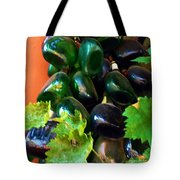 Wine And Grapes Full Circle Tote Bag