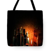 Wine And Leisure Tote Bag by Lourry Legarde