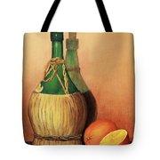 Wine And Oranges Tote Bag