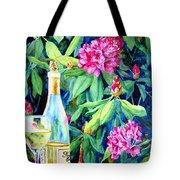 Wine And Rhodies Tote Bag