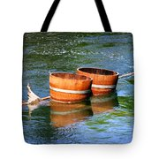 Wine Barrels Tote Bag