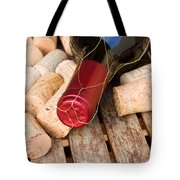 Wine Bottle And Corks Tote Bag