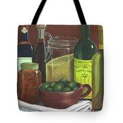Wine Bottles And Jars Tote Bag