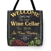 Wine Cellar Sign 1 Tote Bag