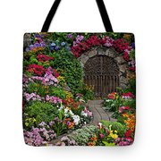 Wine Celler Gates  Tote Bag by Garry Gay