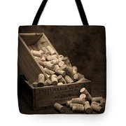 Wine Corks Still Life I Tote Bag