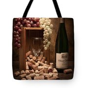 Wine Corks Still Life II Tote Bag by Tom Mc Nemar