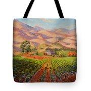Wine Country II - Talley Vineyard Arroyo Grande Tote Bag