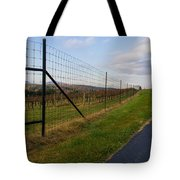 Wine Fields Tote Bag