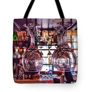 Wine Glasses, Empty Tote Bag