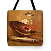 Wine In The Spoon Tote Bag