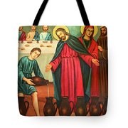 Wine Into Water Tote Bag