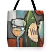 Wine Is Bottled Poetry Tote Bag