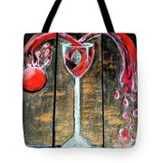 Wine Out Pour Tote Bag
