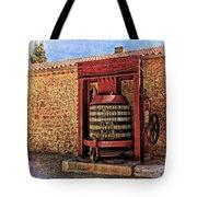 Wine Press Near Narbonne France Dsc01630 Tote Bag