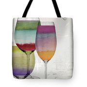 Wine Prism Tote Bag