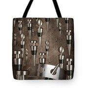Wine Stopper Storm Tote Bag