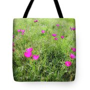 Winecup Flowers Tote Bag