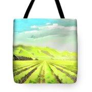 Winery Tote Bag