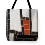 Winery Window Wall Detail Tote Bag
