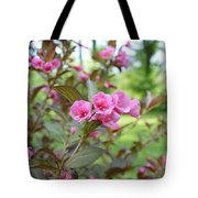 Wines And Rose Weigela Tote Bag