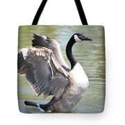 Wing Flapping Tote Bag