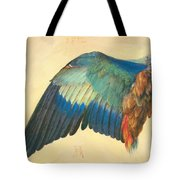 Wing Of A Blue Roller 1512 Tote Bag