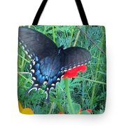Wing Spread Butterfly Tote Bag