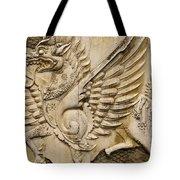 Winged Dragon Tote Bag
