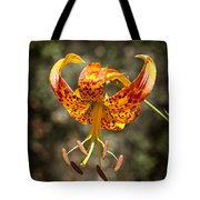 Winged Flower Tote Bag