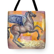 Winged Horse Tote Bag
