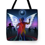 Winged Life Tote Bag
