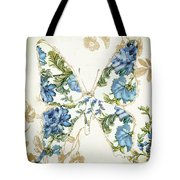 Winged Tapestry Iv Tote Bag