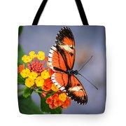 Winged Tiger Tote Bag