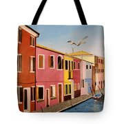 Wingin It In Venice Tote Bag