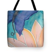 Wings And Pedals Tote Bag