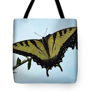 Wings Are Perfect Match - Eastern Tiger Swallowtail Tote Bag