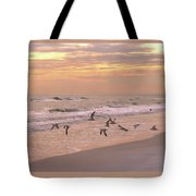 Wings Of Dawn Tote Bag