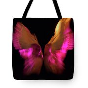 Wings Of Death Tote Bag