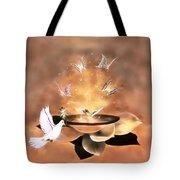 Wings Of Magic Tote Bag