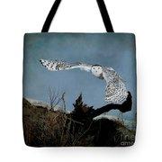 Wings Of Winter Tote Bag
