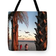 Wings Over The Palms Tote Bag