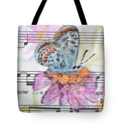 Wings V Tote Bag