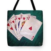 Wining Hand 2 Tote Bag