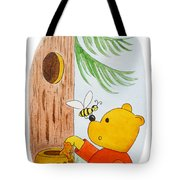 Winnie The Pooh And His Lunch Tote Bag