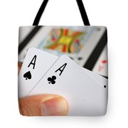 Winning Hand Tote Bag