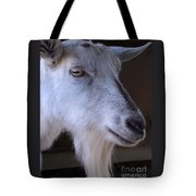 Winsome Goat Tote Bag