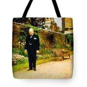 Winston Churchill, 1943 Tote Bag