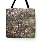 Winston Salem Nc From Above Tote Bag